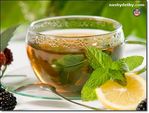 имбирный чай с мятой и мелиссой