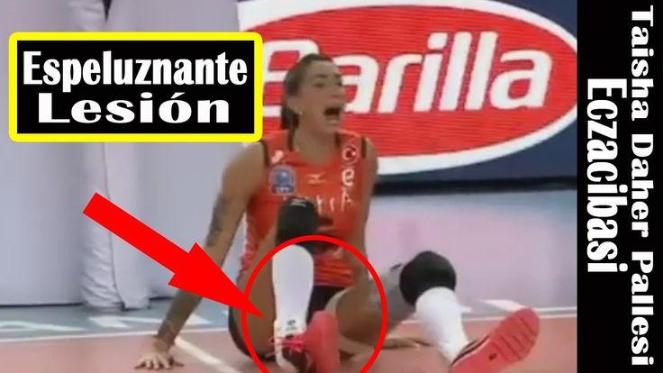 ►ECZACIBASI VITRA voleybol◄Taisha Daher Pallesi danos por frio sofreu um...
