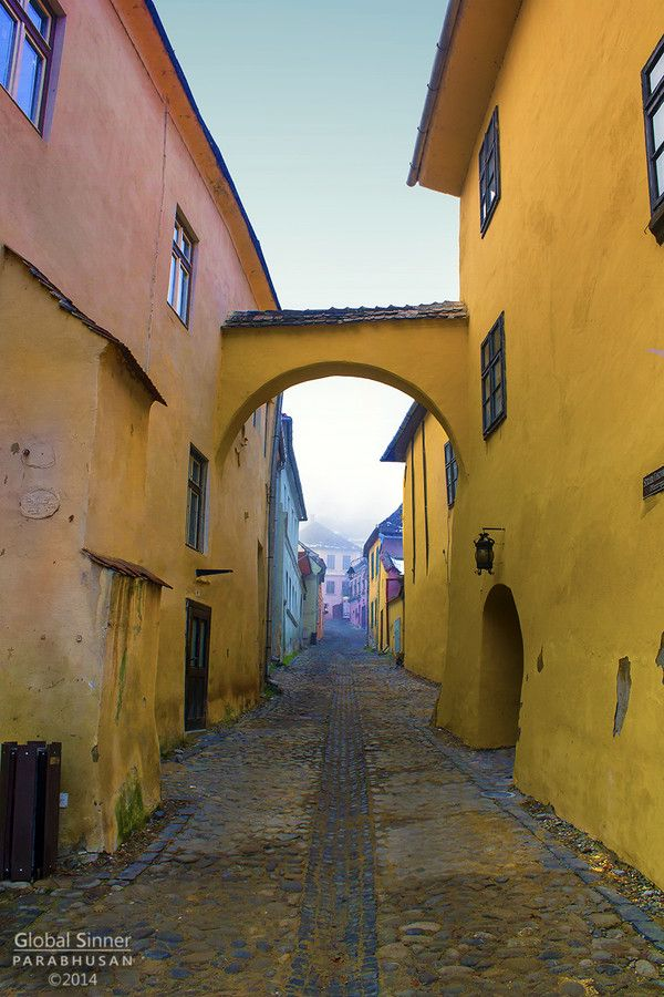 UNESCO. Historic Centre of Sighişoara - The Dragon Halls by Global Sinner on 500px Fantastic Citadel in the town of Sighisoara, located at the heart of Transylvania in Romania. The birthplace of Vlad Țepeș, the inspiration for Bram Stoker's Dracula. www.romaniasfriends.com