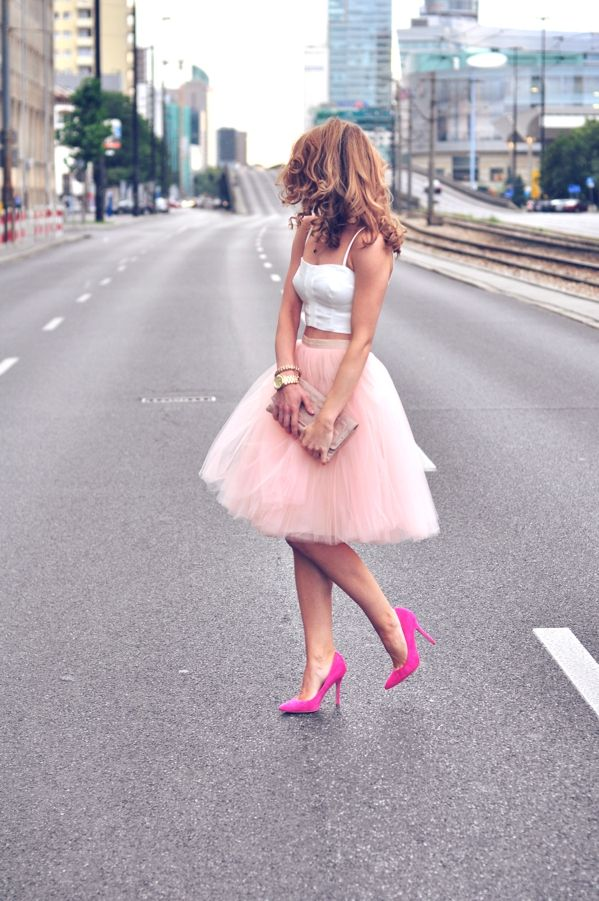 Tulle { Classy + Style } I just want to walk around NY wearing this!!!