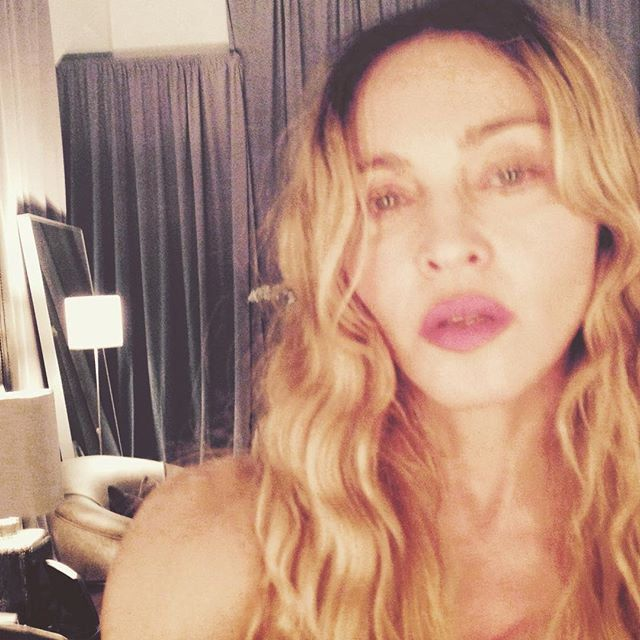 Pin for Later: All the Celebrities You Should Be Following on Instagram! Madonna Follow Madonna: madonna