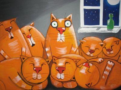 Картина Васи Ложкина  Не спитсо в магазине Арт-Декоро