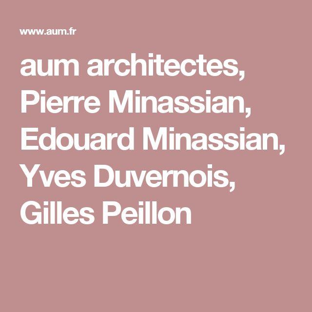 52 best images about AUM Architectes LYON on Pinterest