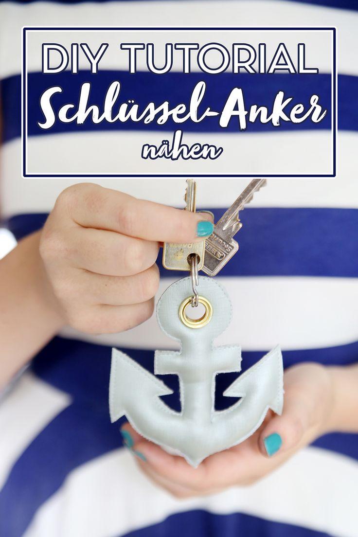 DIY Tutorial: Anker-Anhänger nähen – mit Freebie Vorlage – Christian Meier