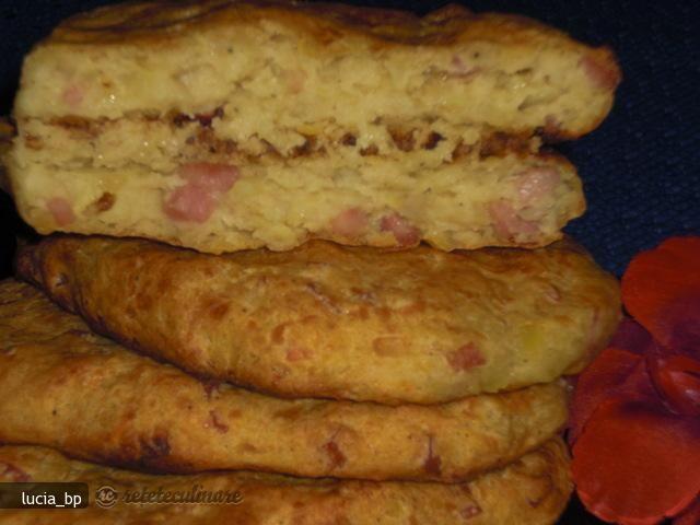 Placintele Din Cartofi cu Sunculita, la Cuptor