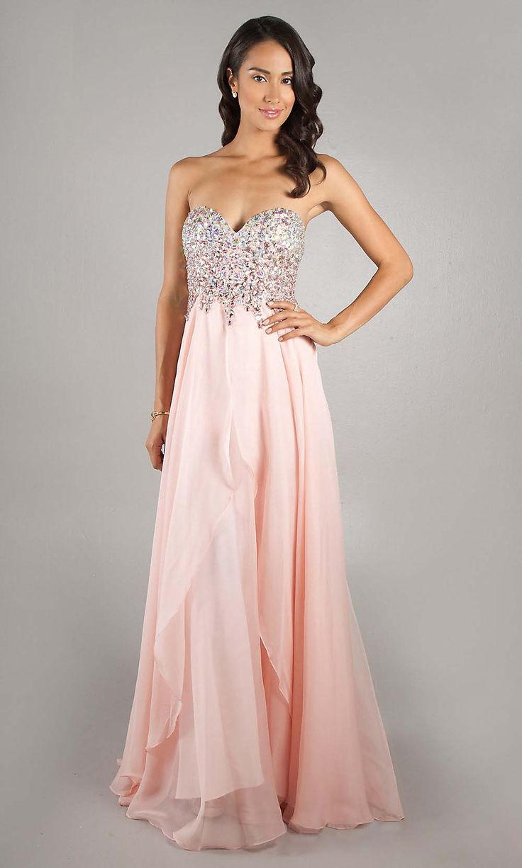 40 best prom dresses images on Pinterest | Dress prom, Chiffon ...