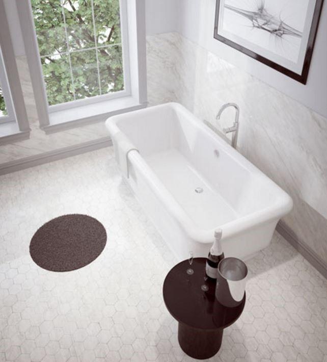 1 piece Freestanding bathtub from SLIK (MERIT)
