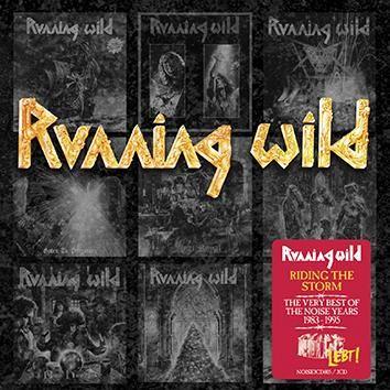 """Riding The Storm - Very Best Of The Noise Years"" dei #RunningWild in formato digipak su doppio CD."