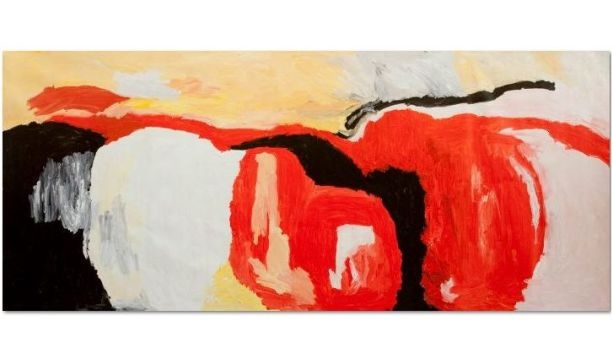 89 Year Old Aboriginal Artist Sally Gabori Wins Rockhampton Gold Award | Rockhampton Art Gallery