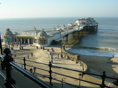 Cromer Pier -Home of Langoustine and the doctor (under pier)