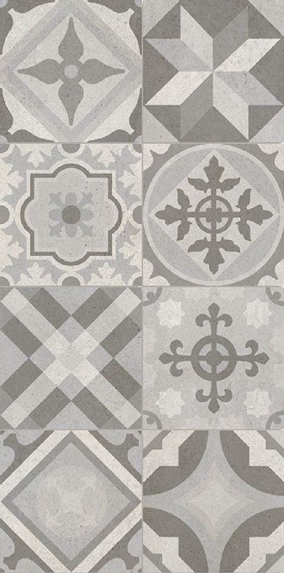 Gredos 30x30 | grå mönstrad granitkeramik