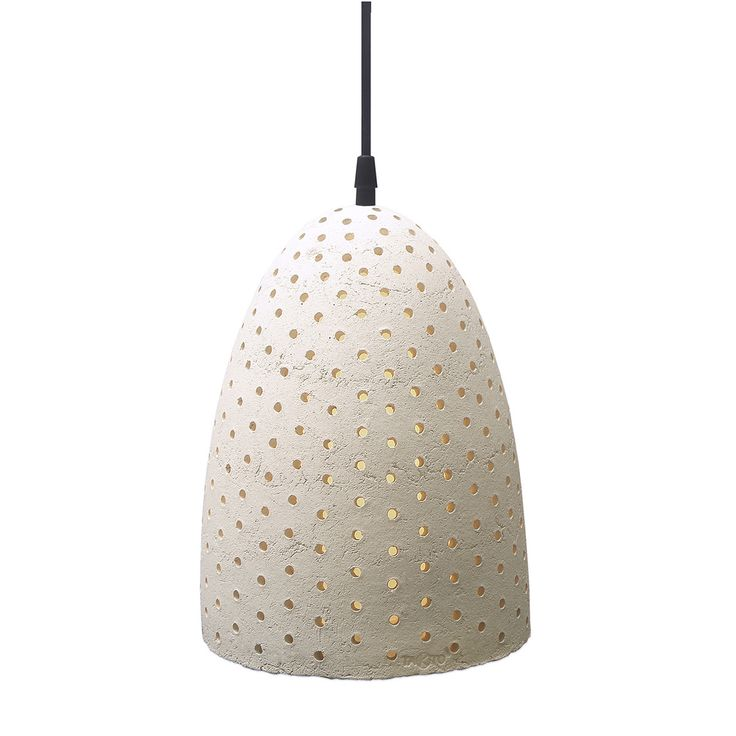 Pixel Bell Pendant Stone White Handmade tiles can be colour coordinated and customized re. shape, texture, pattern, etc. by ceramic design studios