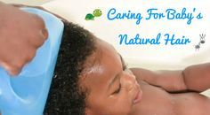 Caring For Baby's Natural Hair  Read the article here - http://www.blackhairinformation.com/by-type/natural-hair/caring-babys-natural-hair/  #baby #babysnaturalhair #caringforbabyshair