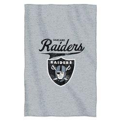 Oakland Raiders NFL Sweatshirt Throw