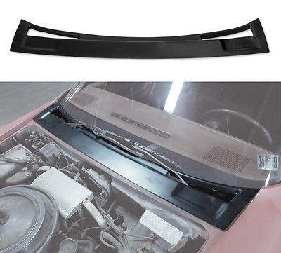 1973-1982-Corvette-Wiper-Door-Compartment-Cover-New-Black