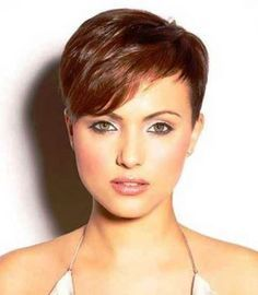 Very Short Pixie Haircuts with Bangs