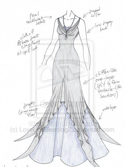 how to draw clothes like a costume designer