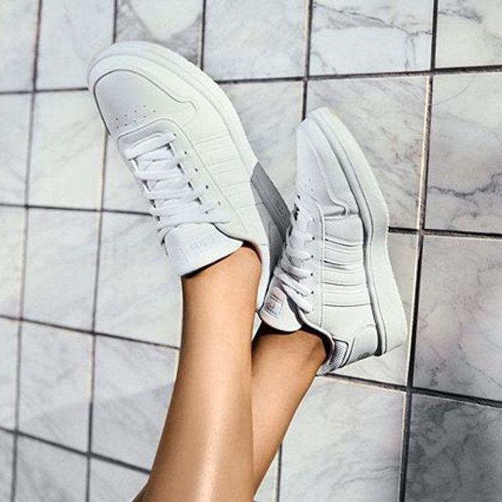 adidas Hoops 2.0 Sneaker - Women's