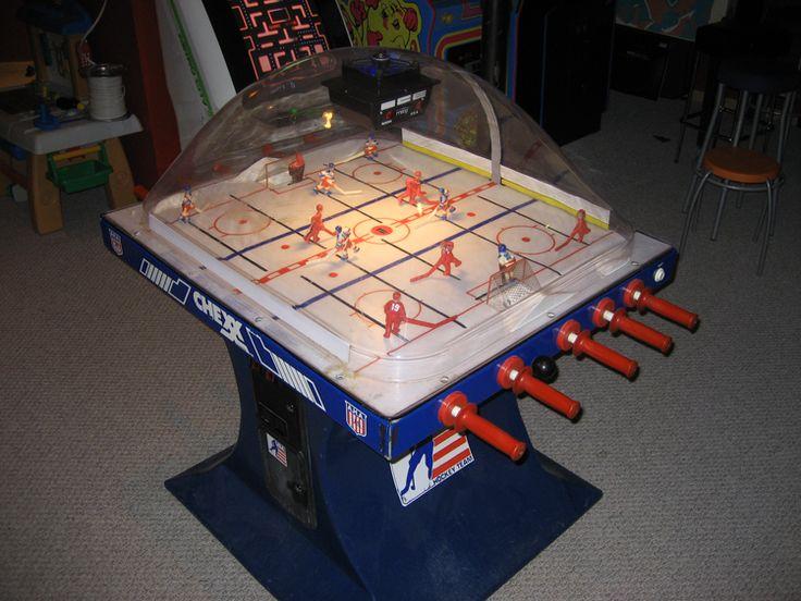 Old School Bubble Hockey Game Bubbles Arcade Games
