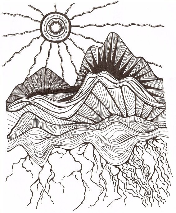 CJ Fernandez, Sun to Roots Could be good for art when studying landform and how different rock is formed.