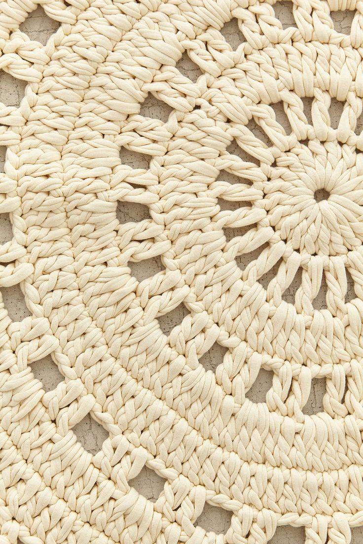 Plum & Bow Ansel Crochet Rug - Urban Outfitters