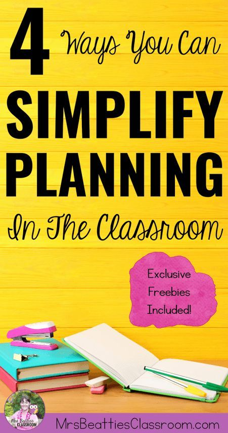 Struggling with your planning time management? The ideas in this post will help you simplify lesson planning and student activity preparation in your classroom!  Get tips and freebies for prioritizing, batch-processing, and organizing the tasks that need