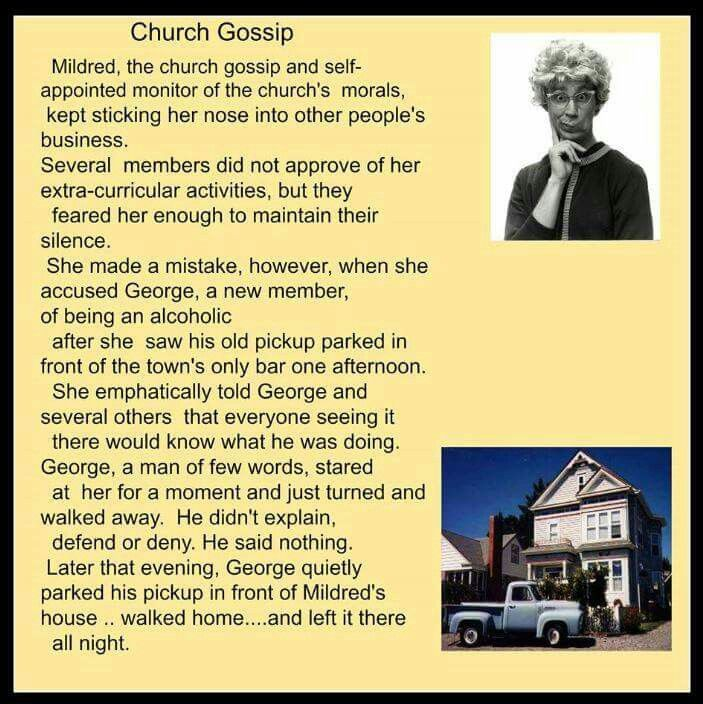 Sayings And Christian Quotes About Gossip