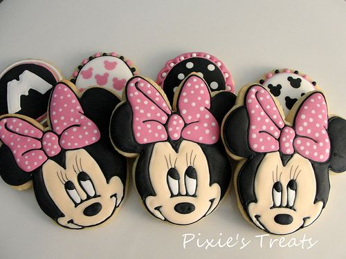 Disney Minnie Cookies