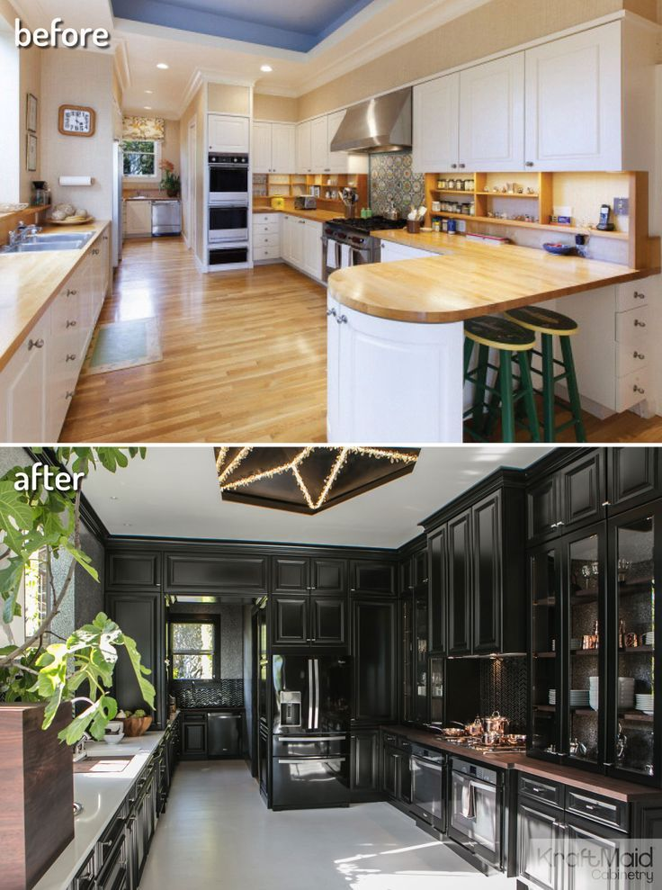 The House Beautiful 2014 Kitchen of the Year gets a makeover with KraftMaid  cabinetry.