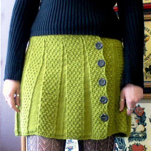 Carnaby Skirt Pattern - free on Ravelry
