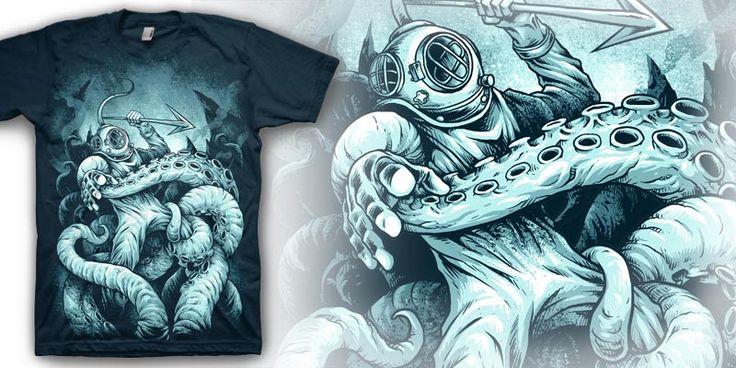 """Not Dead Yet"" t-shirt design by markusmanson"