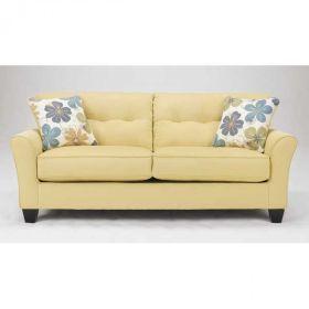 Sofa BedSleeper Sofa Kylee Goldenrod Sofa love the color from American Furniture Warehouse AFWonline