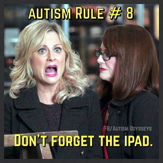 This should be Rule #2! Rule #1 is to download colorcardsapps.com ;)  #Autism…