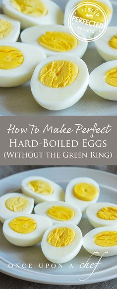 How To Make Perfect Hard-Boiled Eggs (Without The Green Ring)