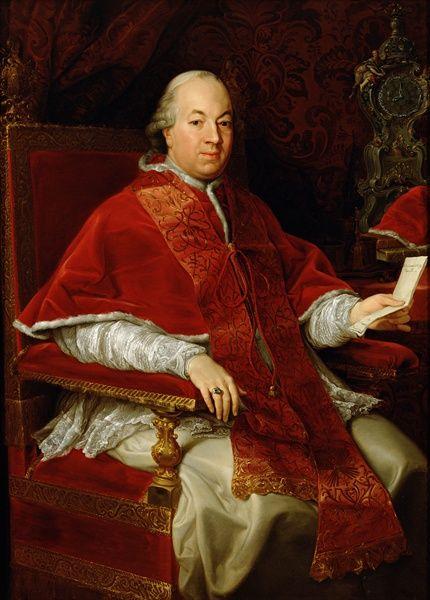 Portrait of Pope Pius VI by Pompeo Batoni