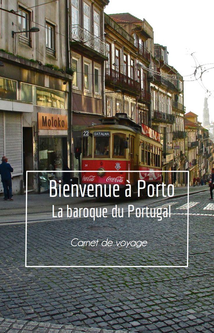Suivez nous dans nos premiers pas à Porto, la baroque du Portugal !   RePinned by : www.powercouplelife.com