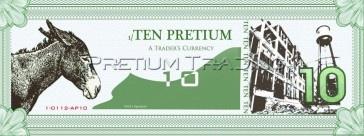 Pretium 10. Series 1. 2012  Patrick Bodnar