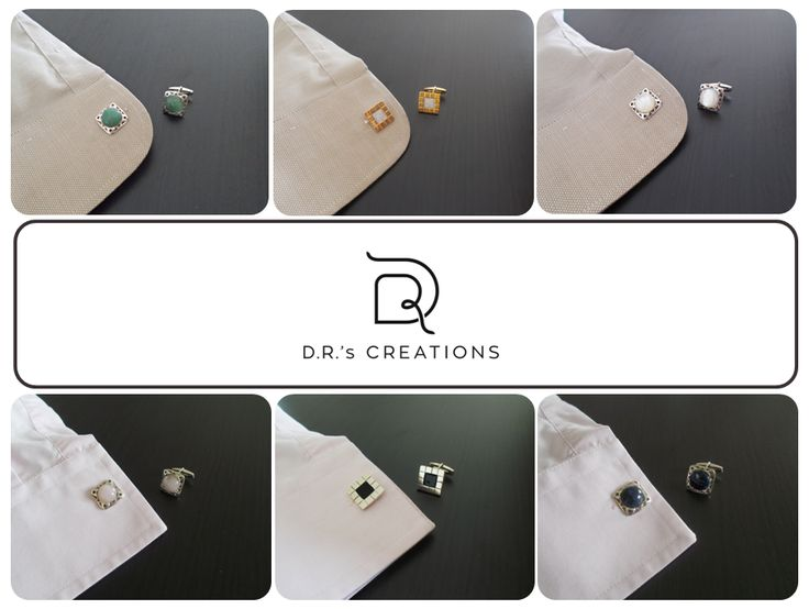 Cufflinks for all styles!
