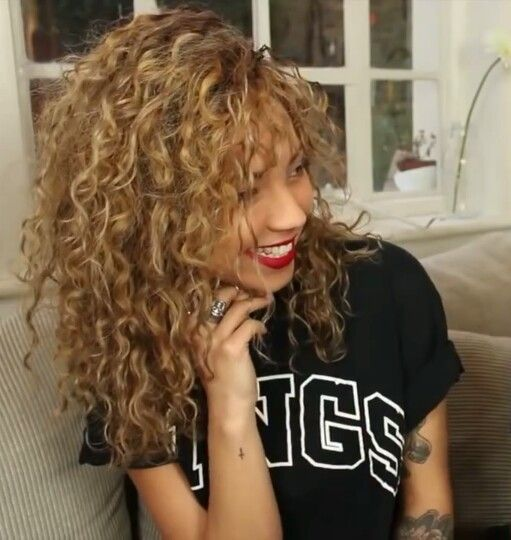 Tremendous 1000 Ideas About Messy Curly Hairstyles On Pinterest Curly Hairstyle Inspiration Daily Dogsangcom