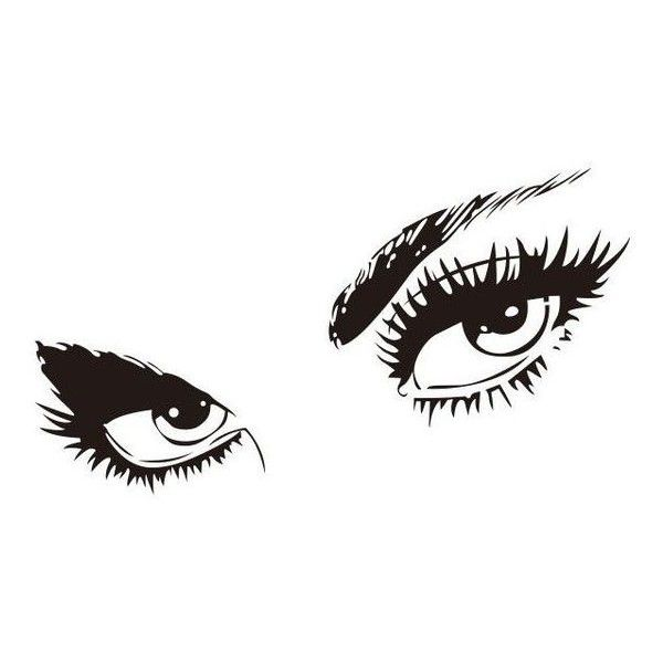 wall decals audrey hepburn 's eyes vinyl removable wall stickers for
