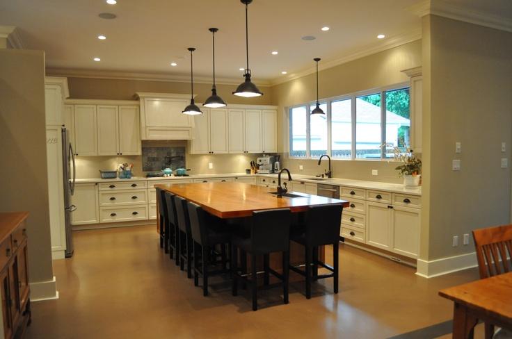 Kitchen c/w large centralised island