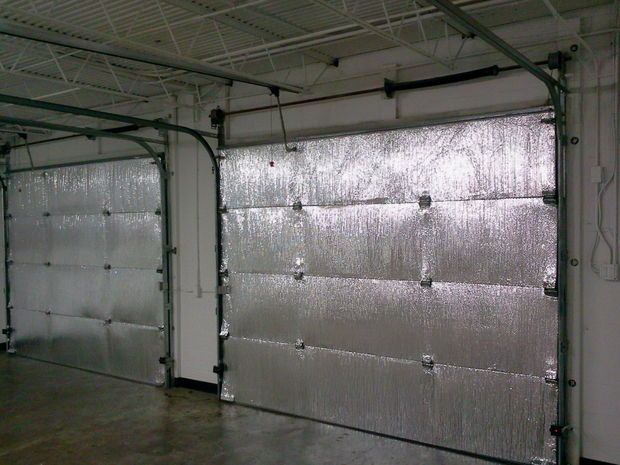 Make your garage energy efficient. Easy install of radiant barrier insulation to garage doors.