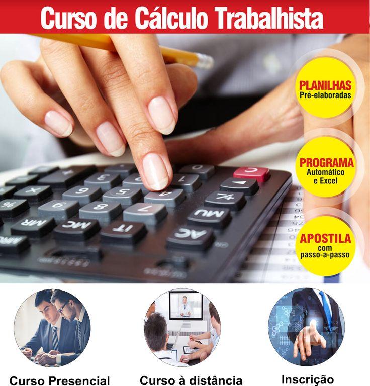 Curso de Cálculo Trabalhista