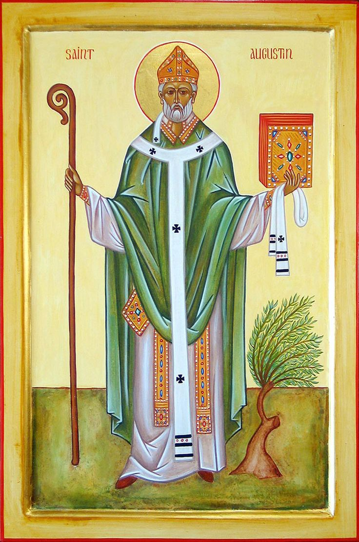 354 – St.Augustine of Hippo, Algerian bishop and theologian (d. 430,   St. Augustine on Law and Grace   Called to Communion