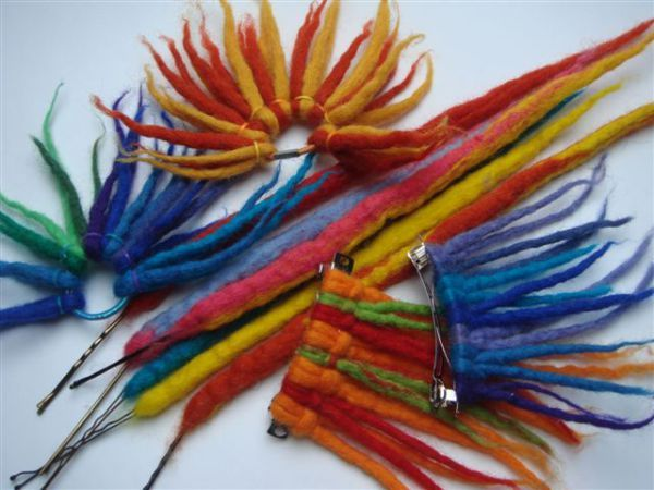 Funky Hair Accessories
