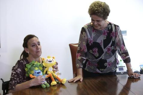 Dilma recebe vice-presidente argentina em Brasília (foto: EPA)