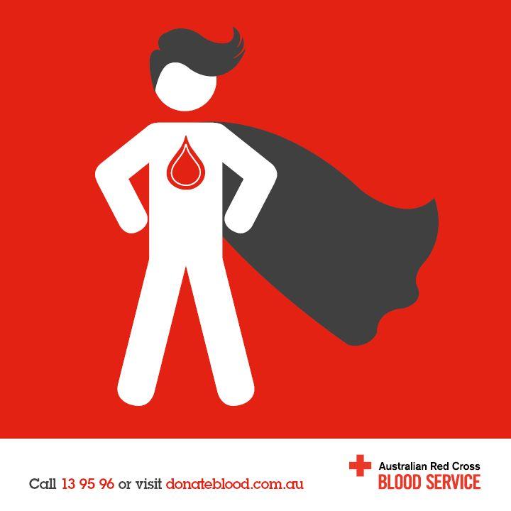 Be a superhero, donate blood. #bloodsaves