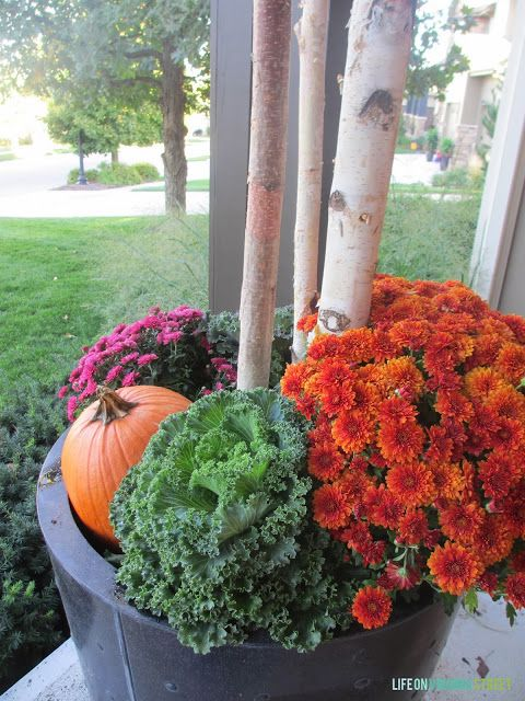 How to create gorgeous fall planters