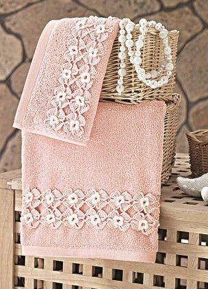 İssimo Home 50 x 90 cm. Güpürlü Havlu - Mila Online Satın Al | Minik Butiğim | Markafoni