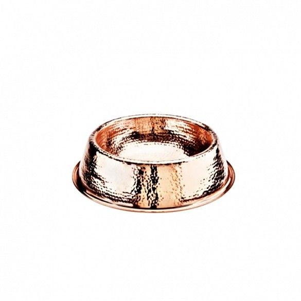 #LGLimitlessDesign #Contest  Frontgate Solid Copper Pet Bowl